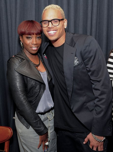 Estelle and Chris Brown Photos of the week