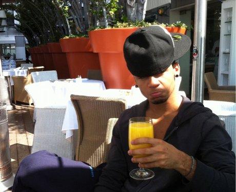 Ast at breakfast in LA! twitter photos