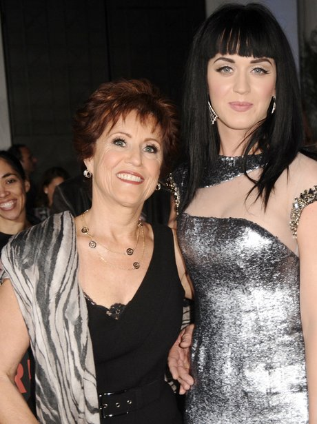 Katy Perry with mother Mary