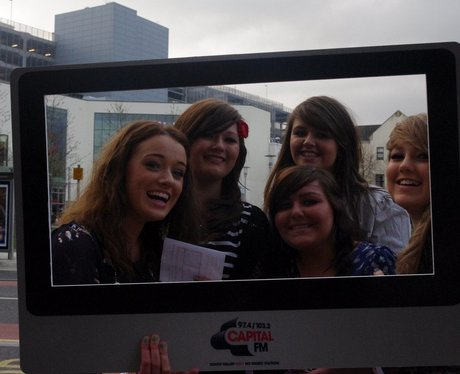 Katy Perry Fans at the Motorpoint Arena Cardiff