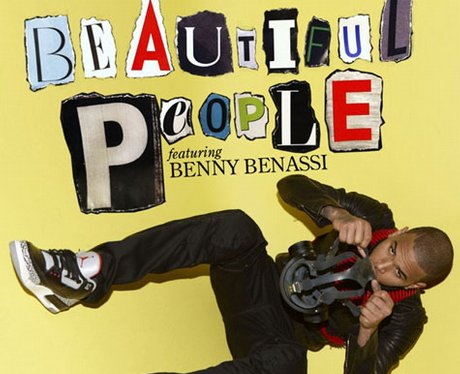 Chris Brown's cover for single 'Beautiful People'