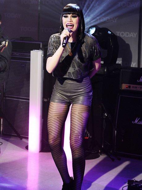 """Jessie J performs on NBC News' """"Today"""" show"""
