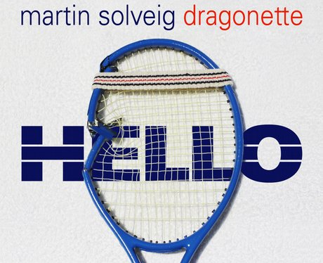 Martin Solveig's single cover for song 'Hello'