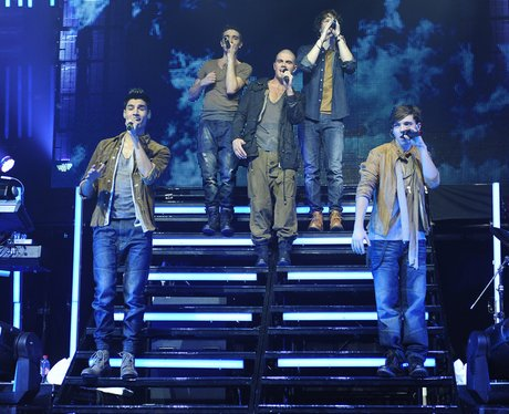 The wanted on tour