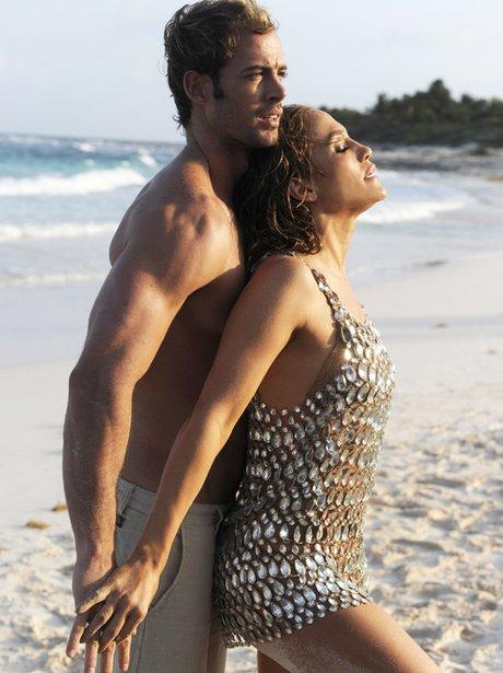 Jennifer Lopez on set of 'I'm Into You' video shoot