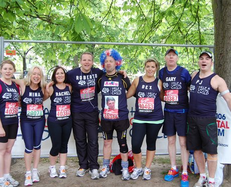 Help a Capital Child Team Mates at the Start