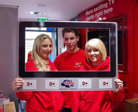street stars at virgin media store week 1