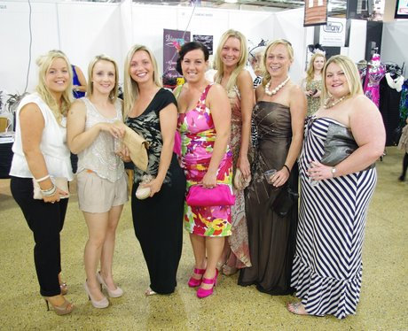 Ladies Day at Doncaster Racecourse