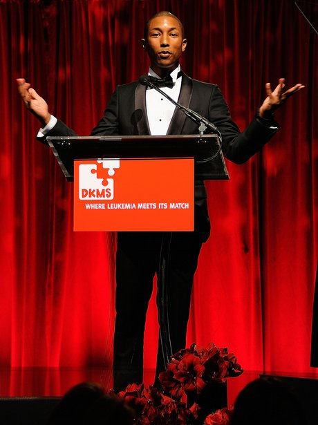 Pharrell Williams attends the DKMS' 5th Annual Gal