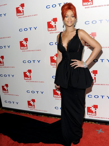 Rihanna on red carpet