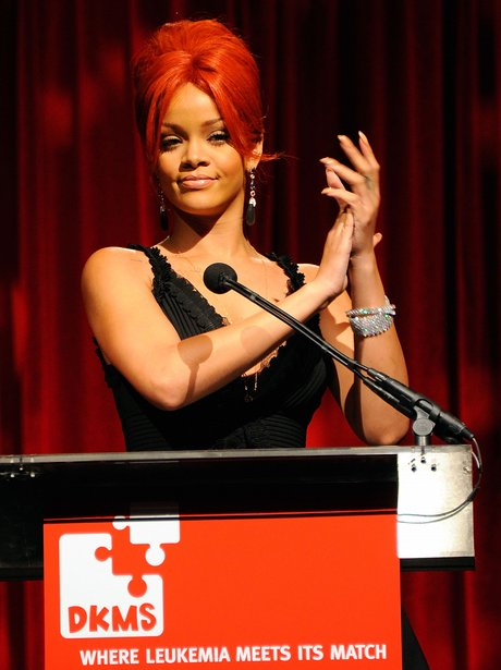 Rihanna attends the DKMS' 5th Annual Gala