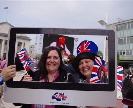 Royal Wedding at Southampton Guildhall Square