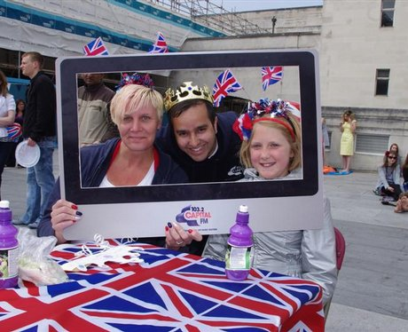 Royal Wedding at Southampton Guildhall Square