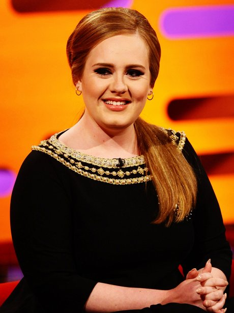 Adele on The Graham Norton Show.