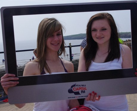 Our listeners enjoying the South Wales sunshine on