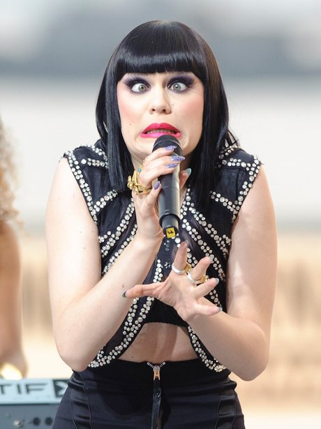 Jessie J performs live