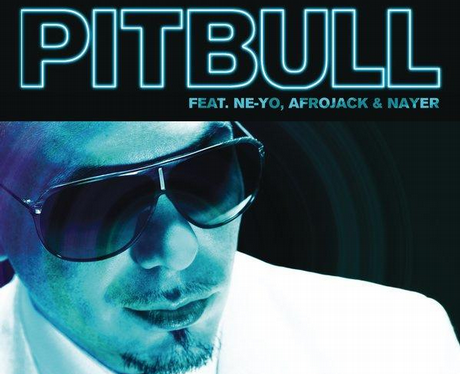 Pitbull's single cover for 'Give Me Everything'