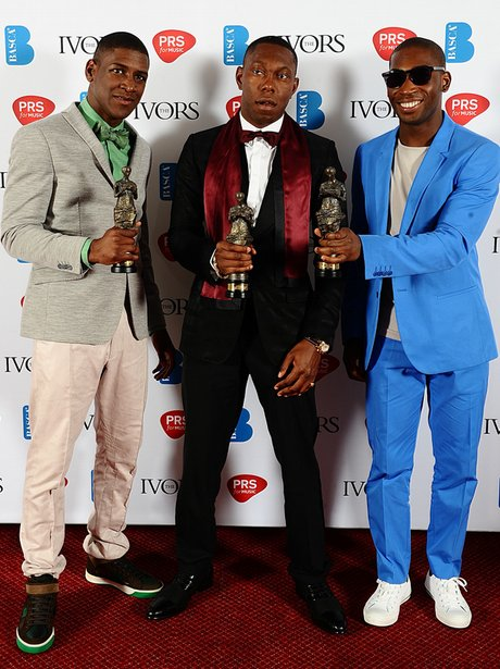 Labrinth, Dizzee Rascal and Tinie Tempah