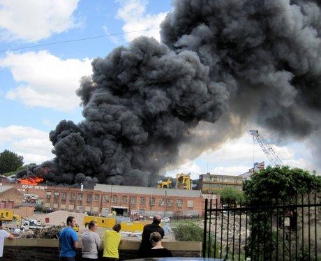 Scrapyard Fire