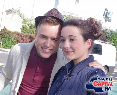 Olly and fans