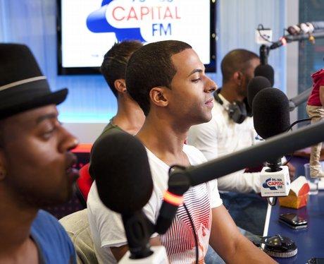 JLS live webchat at Capital FM