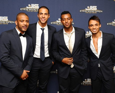 JLS launch the first 3D concert movie