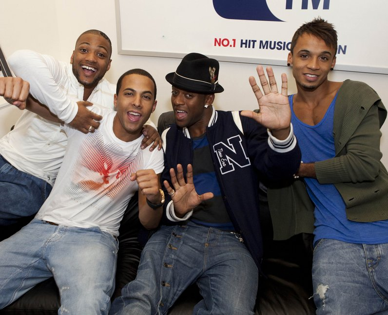 JLS visit CapitalFM Studios