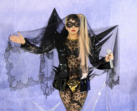 Lady Gaga performs on ABC