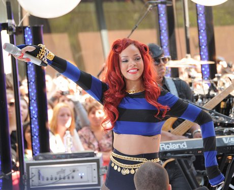 Rihanna performs on NBC's 'Today'