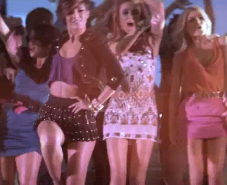 The Saturdays in Notorious video