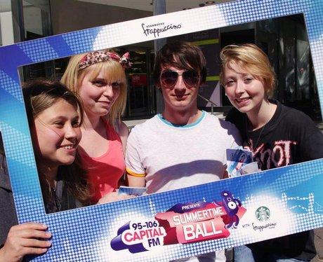 Capital FM Road Trip with Starbucks