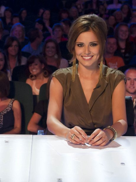 Cheryl Cole on The X Factor panel