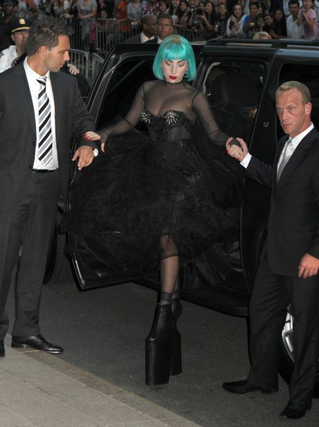 Lady Gaga attends the 2011 CFDA Fashion Awards
