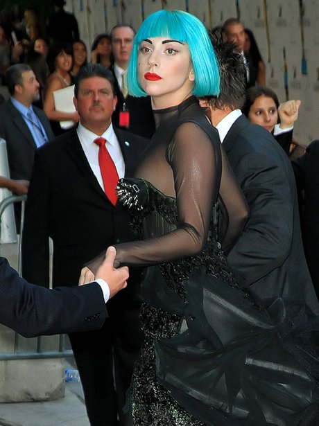 Lady Gaga attends the 2011 CFDA Fashion Awards