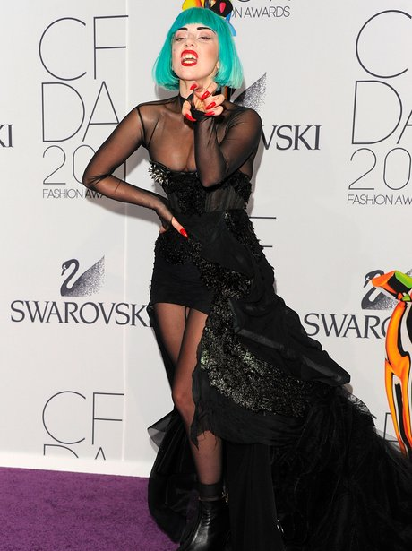 Lady Gaga attends Fashion Awards