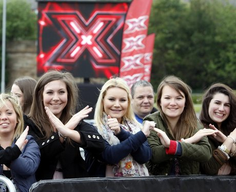 X Factor Auditions Glasgow