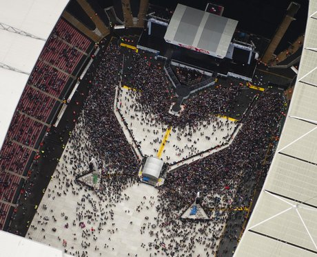 Aerial Shot of Wembley Stadium