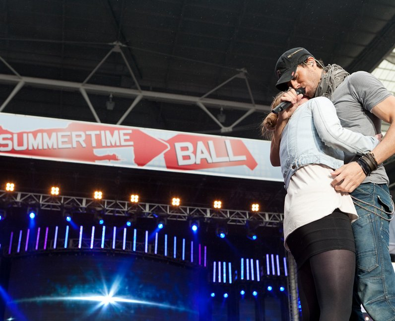 Enrique at the Summertime Ball 2011