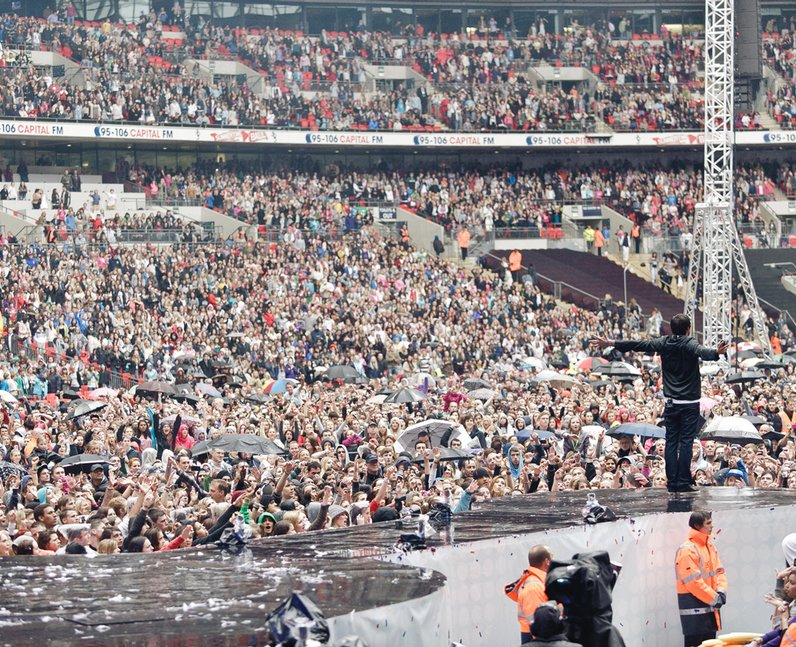 Example live at the Summertime Ball 2011