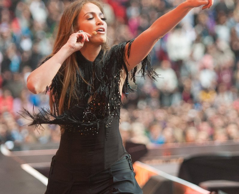 jennifer lopez Summertime Ball 2011