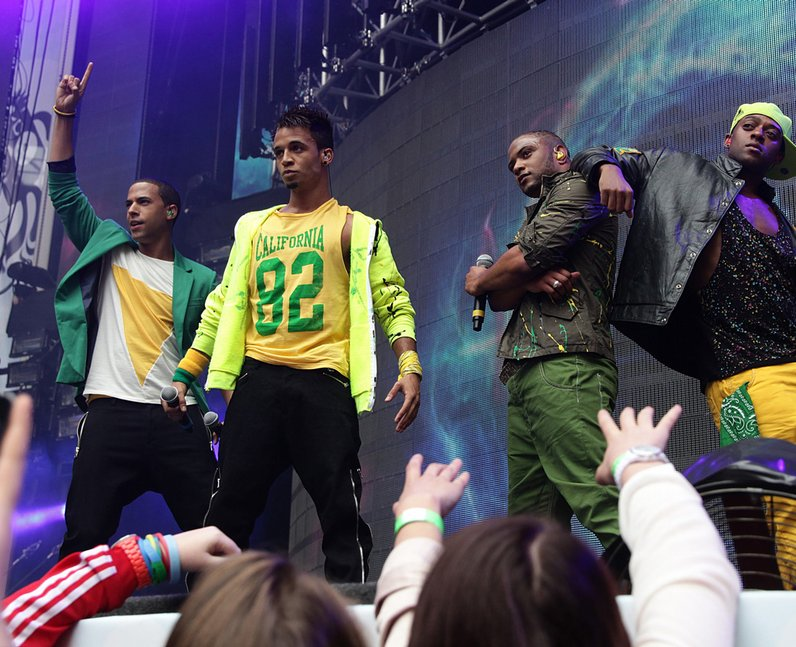 JLS live at the 2011 Summertime Ball