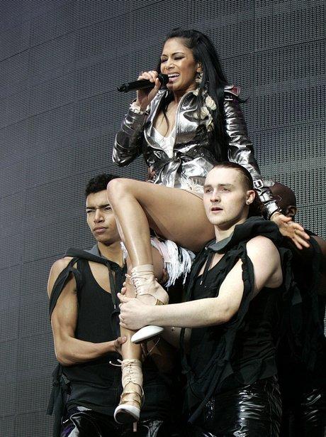 Nicole Scherzinger live at the 2011 Summertime Bal