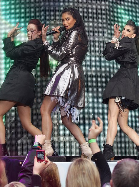 Nicole Scherzinger live at the 2011 Summertime Bal