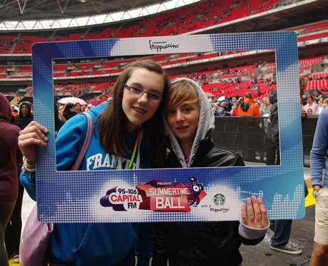 STB Street Stars Team 1 inside Wembley