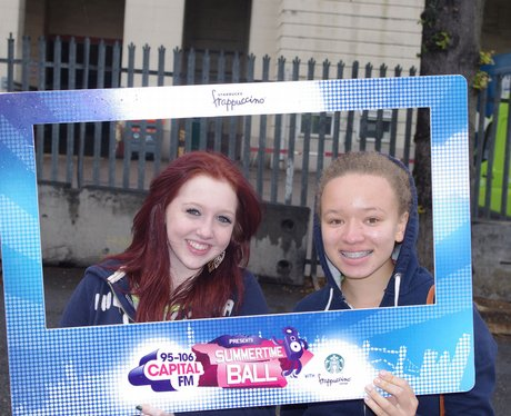 STB Street Stars Team 1 Outside Wembley