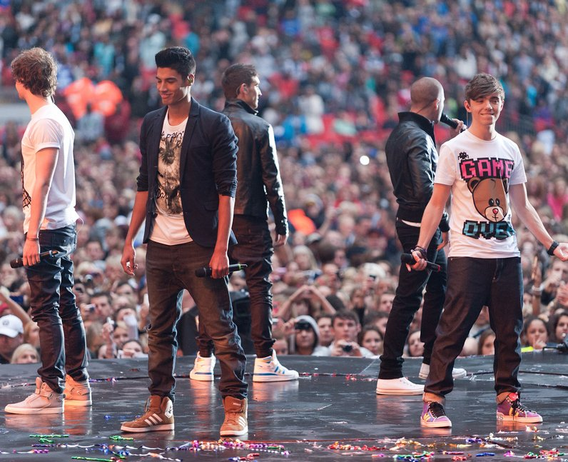 the wanted at the Summertime Ball 2011