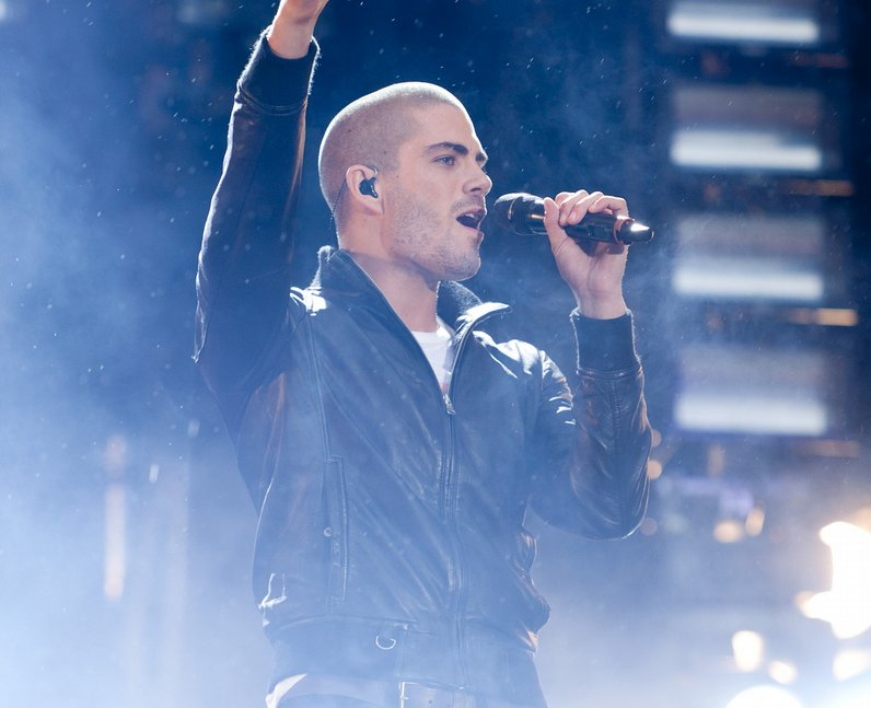 the wanted live at the Summertime Ball 2011