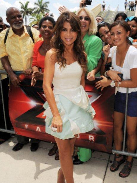 Paula Abdul X Factor