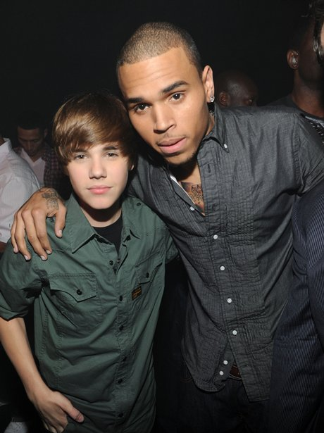 Chris Brown and Justin Bieber