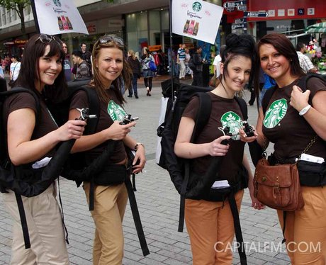 Starbucks New Frappuccino in Birmingham for Summer